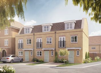 "Thumbnail 3 bedroom end terrace house for sale in ""The Balmoral"" at Hersham Road, Hersham"