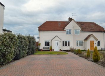 Thumbnail 3 bed semi-detached house for sale in Kings Hill, Kedington, Haverhill