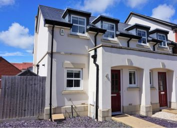 Thumbnail 1 bedroom end terrace house for sale in Sedge Place, Weymouth