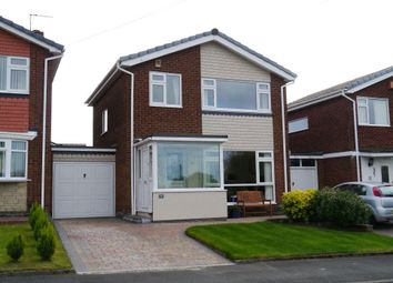 Thumbnail 3 bed detached house for sale in Eden Close, Chapel House, Newcastle Upon Tyne
