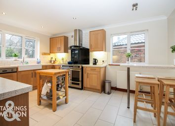 Thumbnail 4 bed detached house for sale in Oak Tree Close, Cantley, Norwich