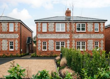 Thumbnail 2 bed semi-detached house for sale in 1 Springvale Rise, Kings Worthy, Winchester, Hampshire