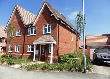 Thumbnail 4 bed semi-detached house to rent in Augustus Close, Tadpole Garden Village, Swindon
