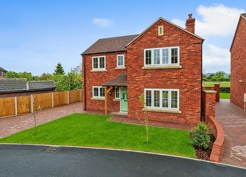 Thumbnail 4 bedroom detached house for sale in Cheadle Road, Cheddleton, Leek