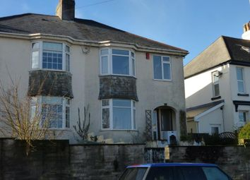 Thumbnail 3 bedroom semi-detached house to rent in North Road, Saltash, Cornwall