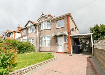 Thumbnail 3 bed semi-detached house for sale in Weaver Avenue, Rhyl