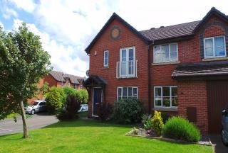 Thumbnail 3 bed terraced house to rent in Maritime Way, Ashton-On-Ribble, Preston