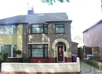 Thumbnail 4 bed semi-detached house for sale in Brodie Avenue, Liverpool, Merseyside