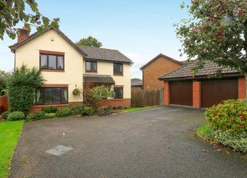 Thumbnail 4 bed detached house for sale in Rydon Acres, Kingsteignton, Newton Abbot