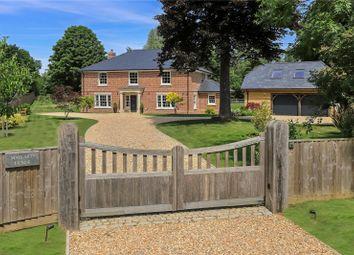 Thumbnail 5 bed detached house for sale in Highbridge Road, Brambridge, Hampshire
