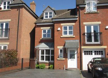 Thumbnail 4 bed town house for sale in Middlewood Close, Solihull
