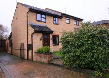 Thumbnail 3 bed semi-detached house for sale in Dreyer Close, Bilton, Rugby