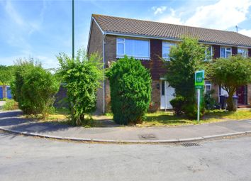 Thumbnail 3 bed end terrace house for sale in The Paddocks, Lancing, West Sussex