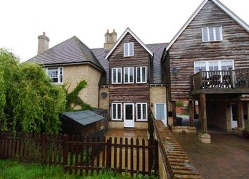 Thumbnail 3 bed terraced house to rent in Black Barn Close, Church Lane, Lower Somersham
