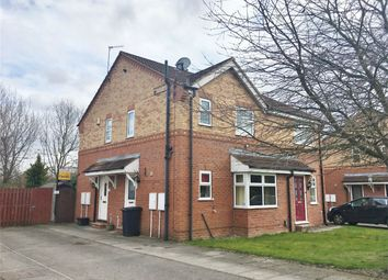 Thumbnail 1 bed semi-detached house for sale in St James Close, Rawcliffe, York