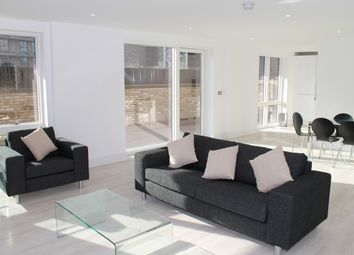 Thumbnail 3 bed flat for sale in Lakeside Drive, London
