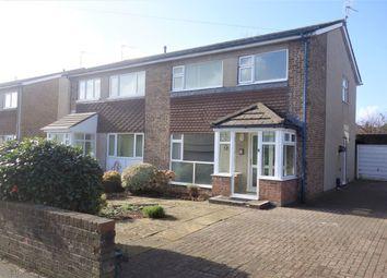 Thumbnail 3 bed semi-detached house to rent in Berkley Drive, Penarth