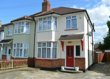 Thumbnail 3 bed semi-detached house for sale in Danetree Road, West Ewell, Epsom