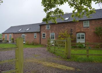 Thumbnail 4 bed barn conversion for sale in Lea Road, Rugeley, Staffordshire