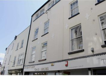 Thumbnail 2 bedroom flat to rent in Mill Street, Bideford, Devon