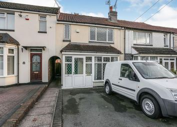 Thumbnail 2 bed terraced house for sale in Doris Road, Coleshill, Birmingham, Warwickshire