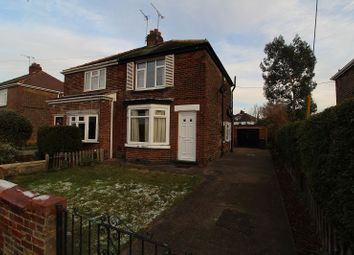 Thumbnail 2 bed semi-detached house to rent in Tennyson Avenue, Sprotbrough, Doncaster