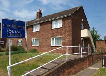 Thumbnail 2 bed maisonette for sale in Brackenwood Road, Burton-On-Trent, Staffordshire