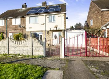 Thumbnail 3 bed semi-detached house for sale in The Glebe, Cossall, Nottingham
