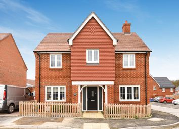 Thumbnail 4 bed detached house for sale in Delamere Gardens, Fair Oak, Hampshire