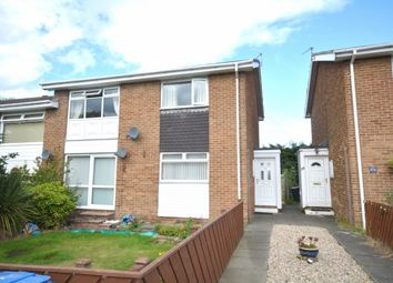 Thumbnail 2 bedroom flat for sale in Chatton Close, Chester Le Street