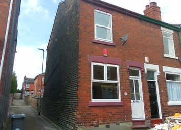 Thumbnail 2 bedroom end terrace house to rent in Clare Street, Basford, Stoke-Ontrent