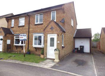 Thumbnail 3 bed semi-detached house for sale in Ellicks Close, Bradley Stoke, Bristol