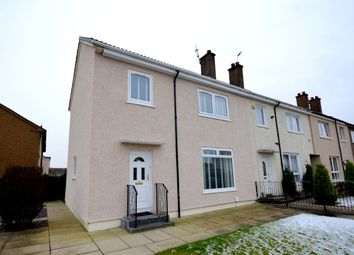 Thumbnail 3 bed end terrace house for sale in Brown Avenue, Clydebank