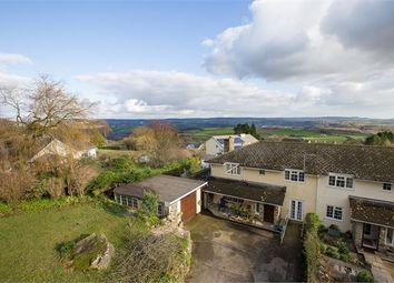 Thumbnail 4 bed semi-detached house for sale in Five Lanes, Hennock, Devon.