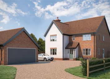 Thumbnail 4 bed detached house for sale in The Street, Bergh Apton, Norwich, Norfolk