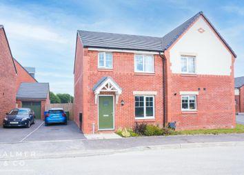 Thumbnail 3 bed semi-detached house to rent in Farm Croft Drive, Golborne, Warrington