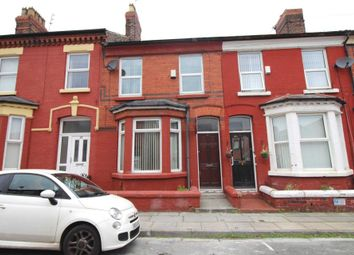 Thumbnail 4 bed terraced house to rent in Moss Street, Garston, Liverpool