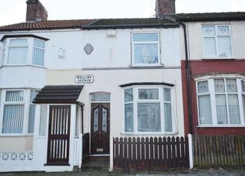 Thumbnail 2 bed terraced house for sale in Melling Avenue, Aintree, Liverpool