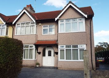 Thumbnail 4 bed semi-detached house for sale in Raeburn Avenue, Eastham, Wirral