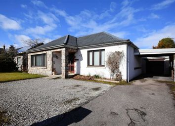 Thumbnail 3 bed detached bungalow for sale in Woodside Avenue, Grantown-On-Spey