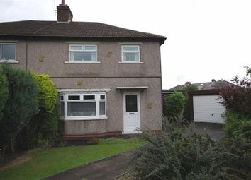Thumbnail 3 bed semi-detached house for sale in The Crescent, Holywell Green, Halifax