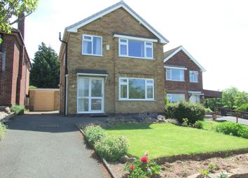 Thumbnail 3 bed detached house for sale in Birchover Way, Allestree, Derby