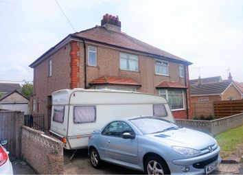 Thumbnail 3 bed semi-detached house for sale in St. Asaph Avenue, Rhyl