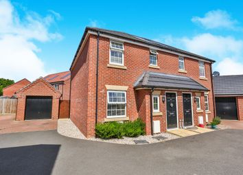 Thumbnail 3 bedroom semi-detached house for sale in Old Oak Close, Wymondham