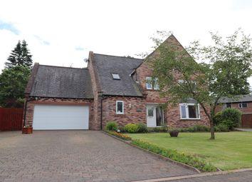 Thumbnail 4 bed detached house for sale in Brunstock Mews, Brunstock, Carlisle
