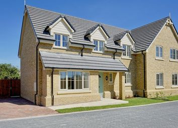 Thumbnail 4 bed semi-detached house for sale in St. Giles Close, Holme, Peterborough