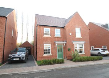 Thumbnail 4 bed detached house for sale in Potters Way, Measham, Swadlincote