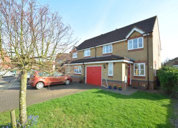 Thumbnail 3 bedroom semi-detached house for sale in Morton Close, Ely