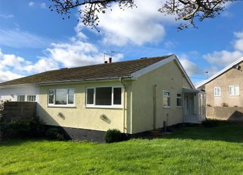 Thumbnail 3 bed semi-detached bungalow for sale in Upper Hill Park, Tenby, Pembrokeshire