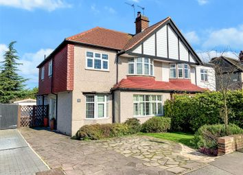 Thumbnail 4 bed semi-detached house for sale in Faraday Avenue, Sidcup, Kent